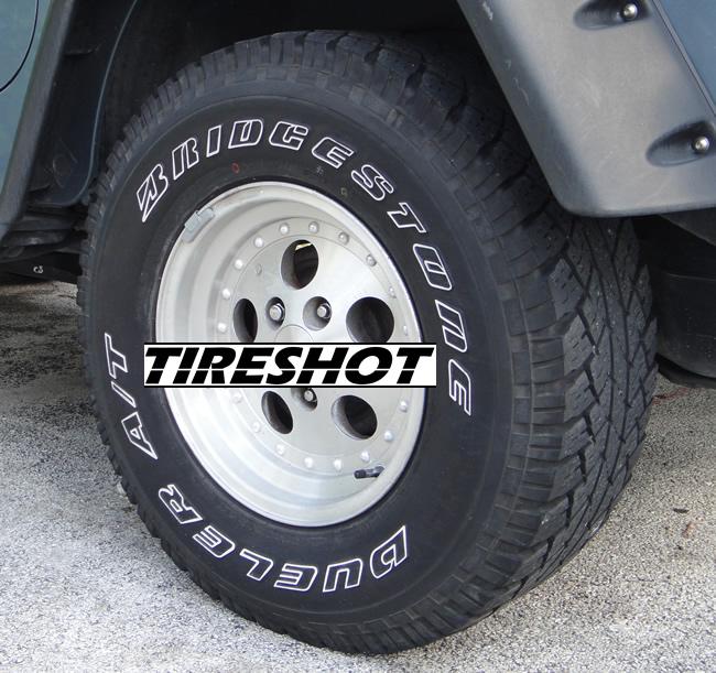 Ford Ranger All Terrain Tires: Bridgestone Dueler A/T 255/70R16 111T OEM Ford Ranger